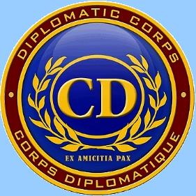 Duplomatiemblem - CD Corps Diplomatique